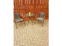 garden furniture bistro set
