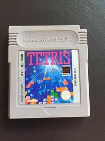 Original gameboy Tetris game