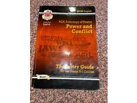 AQA Anthology of Poetry- Power and Conflict