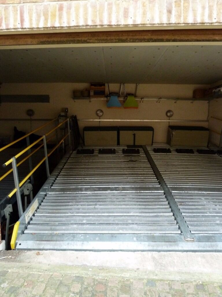 Secure parking on stacker system in ***GARAGE*** with 24/7 access off ***PORTOBELLO ROAD*** (4077)