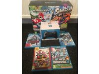 Wii U boxed with 5 games and pro controller
