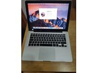 13-inch Apple MacBook Pro 2.5GHz Core i5 2GB RAM 500GB HDD A1278