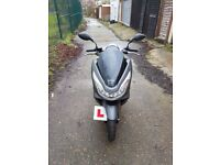 2017 Honda pcx 125 scooter, Only 168 miles