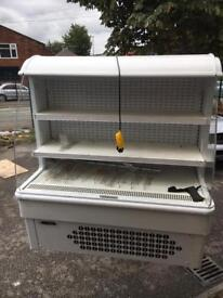 Small open front chiller