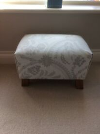 Lovely Grey Footstool