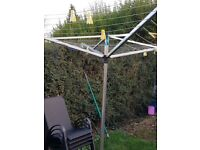 Brabantia washing line and spear