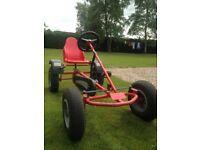 HIGH Quality Heavy-Duty Go-Kart, from East Links Farm (Edinburgh), reduced price!
