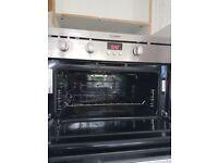 Built in Indesit oven