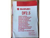 Suzuki DF2.5 outboard motor