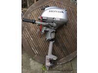 Honda BF 2.3 outboard, 2014, little-used