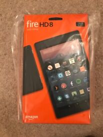 Amazon fire HD8 16gb black