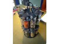 Circular Spice Rack (16 Jars)