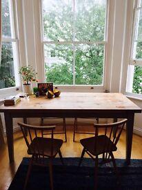 Oak Dining Table Clapham