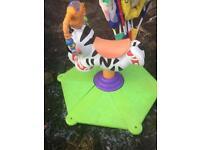 Zebra bounce and spinner