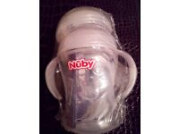 Nuby Bottle To Cup with Dummy/Pacifier (3 in 1) . BRAND NEW & SEALED.