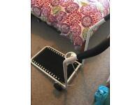 Manual Folding treadmill and V fit stepper