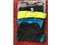 Men's sports tops sleeveless/short sleeved size large