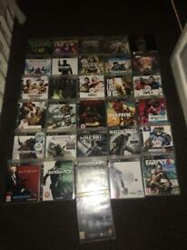 PS3 console plus 31 games Bargain
