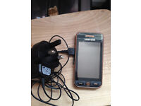 Samsung GTS5230 Gold Design Limited Edition Edge Quad Band & Charger