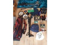 GOLF CLUBS BAG BALLS ACCESSORIES BUNDLE LOT WORTH LOTS! £100 ovno