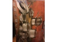 13 piece cookware Set Kirkland brand new