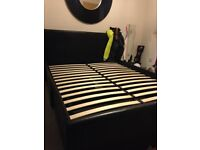 double bed with draws (used)