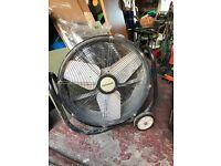 """Micromark 24"""" high velocity fan portable industrial fan"""