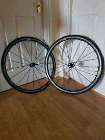 Ksyrium elite road bike wheels