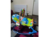 Baby Bouncer Rocker Infant to Todler Chair