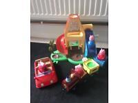 Peppa pig weeble toys