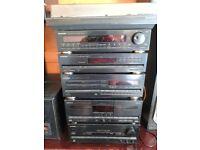 PIONIEER audio hi fi separates with speakers