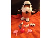 Mr Potato Head star wars Stormtrooper no box, but in perfect condition
