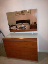 Three piece bedroom set.