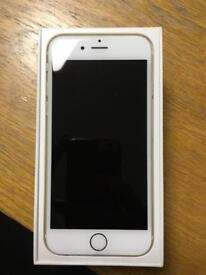 iPhone 6 gold in great condition