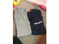 2 pairs of next trousers age 12