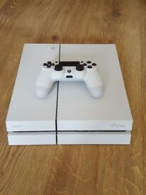 White ps4 in great condition