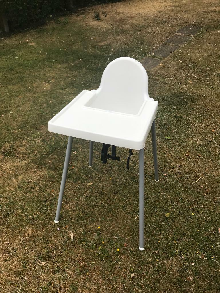 ae2f4e771fd Ikea ANTILOP high chair with safety belt and tray