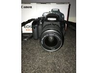 Canon EOS 600D with 18-55mm lens, Excellent condition!!