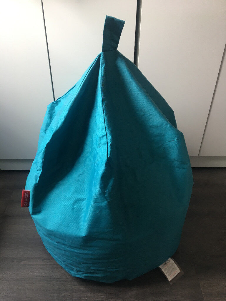 Kaikoo Bean Bag In Turquoise Brand New Never Used