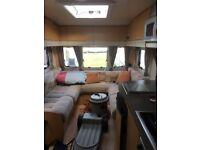 bailey pegasus 534 fixed bed 4 berth caravan