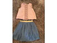 Girls Mamas and papas boho outfit 18-24 months