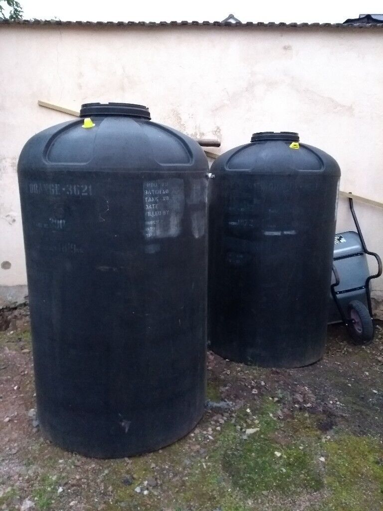 Large Water Tank Ex Fruit Juice Container 1520 Litre