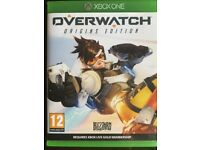 Overwatch with unused code, origins edition Xbox one game