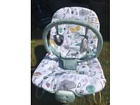 Mamas & Papas Buzz Bouncing Cradle Alphabet (Baby Bouncer)