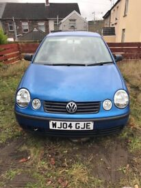 Polo 04 1.4 Petrol Spares or repairs