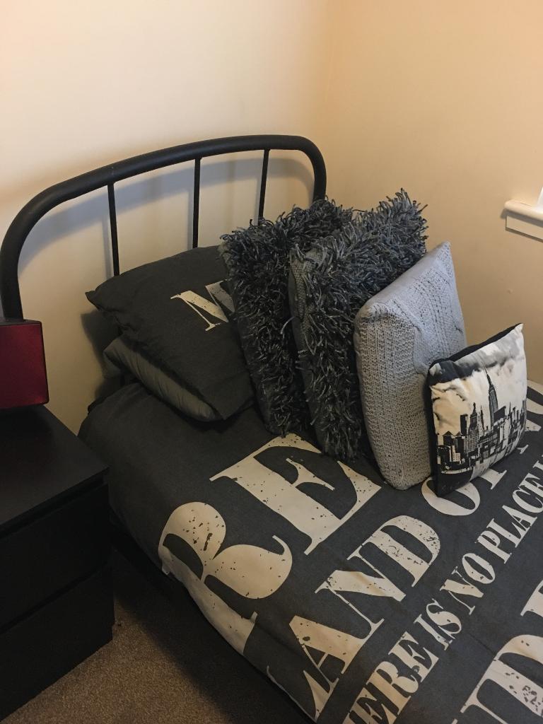 Next single bedframe and mattress | in Sauchie ...