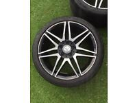 """18"""". AMG Mercedes alloys"""