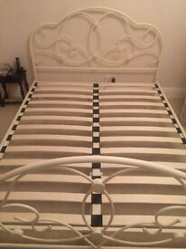 Ornate Metal Bedstead king size