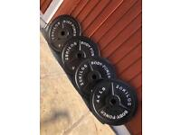 Olympic Weights Plates 2x25kg 2x20kg. •Can Deliver•