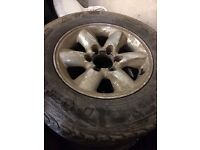NISSAN TERRANO ALLOY WHEELS FOR SALE